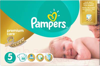 Подгузники Pampers Premium Care 5 Junior Mega Pack (88шт)