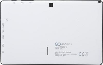 GPS навигатор GoClever TAB T76 GPS TV - вид сзади
