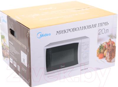 Микроволновая печь Midea MM720CFB - коробка