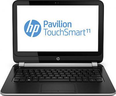 Ноутбук HP Pavilion TouchSmart 11-e010er (E7F86EA) - фронтальный вид