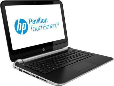 Ноутбук HP Pavilion TouchSmart 11-e010er (E7F86EA) - общий вид