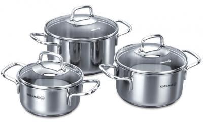 Набор кухонной посуды Korkmaz Perla A1650 - общий вид