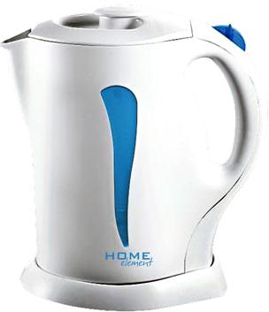 Электрочайник Home Element HE-KT101 (White-Blue) - общий вид