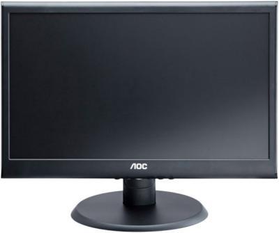 Монитор AOC E2050SWDA - фронтальный вид