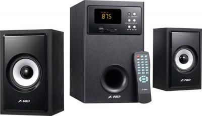 Мультимедиа акустика FnD A555U (черный) - общий вид