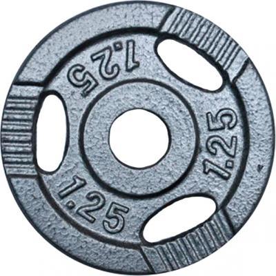 Диск для штанги NoBrand K3-1,25kg (окрашенный) - общий вид