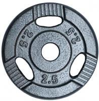 Диск для штанги NoBrand K3-2,5kg (окрашенный) -