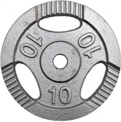 Диск для штанги NoBrand K3-10kg (окрашенный) - общий вид