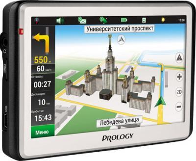 GPS навигатор Prology iMap-5500 (Black-White) - общий вид