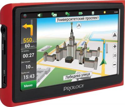 GPS навигатор Prology iMap-5500 (Black-Red) - общий вид