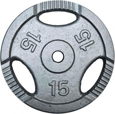 Диск для штанги NoBrand K3-15kg (окрашенный) - общий вид