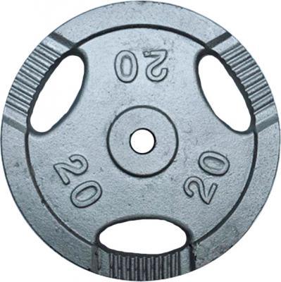 Диск для штанги NoBrand K3-20kg (окрашенный) - общий вид