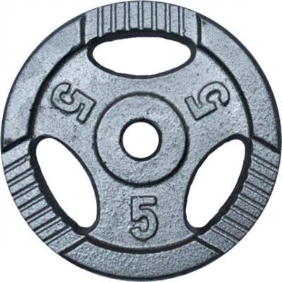 Диск для штанги NoBrand K3-5kg (окрашенный) - общий вид