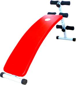 Скамья для пресса NoBrand B044 (красная) - общий вид