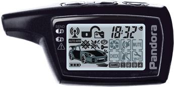 Автосигнализация Pandora DXL 3930 - диалоговый брелок