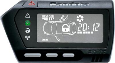 Автосигнализация Pandora DXL 3950 - диалоговый брелок