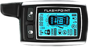 Автосигнализация FlashPoint S2 - диалоговый пульт