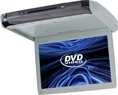 Потолочный монитор Intro JS-1542 DVD - общий вид (серый)