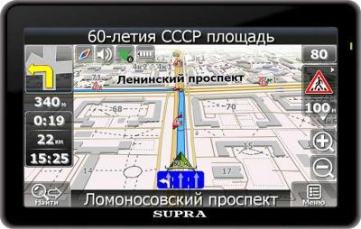 GPS навигатор Supra SNP-703 - общий вид