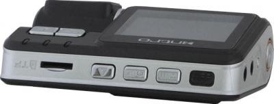 Автомобильный видеорегистратор Intro VR-670 - вид сбоку