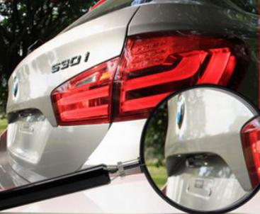 Автомобильный видеорегистратор Intro VR-670 - установка камеры под багажник