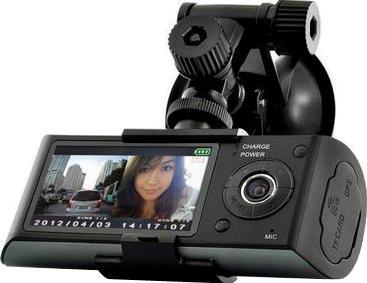 Автомобильный видеорегистратор Intro VR-711 - дисплей