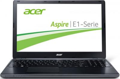 Ноутбук Acer Aspire E1-572G-54204G1TMnkk (NX.M8JEU.006) - фронтальный вид