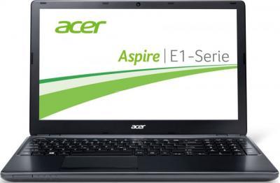 Ноутбук Acer Aspire E1-572G-34016G75Mnkk (NX.M8KEU.006) - фронтальный вид