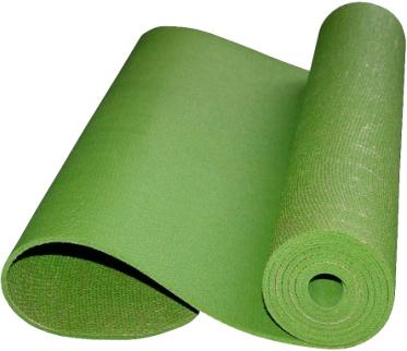 Коврик для йоги NoBrand YM-5 (темно-зеленый) - общий вид