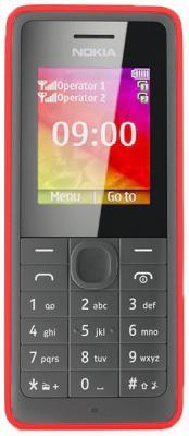 Мобильный телефон Nokia 107 Dual (Red) - общий вид