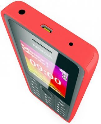 Мобильный телефон Nokia 107 Dual (Red) - вид сверху
