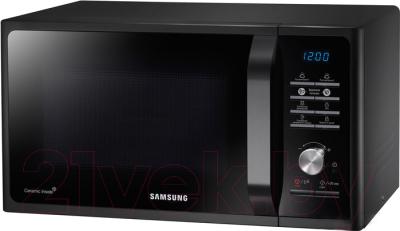 Микроволновая печь Samsung MS23F302TAK - вид спереди 1
