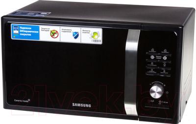 Микроволновая печь Samsung MS23F302TAK - вид спереди 2