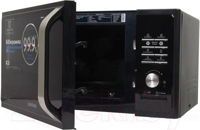 Микроволновая печь Samsung MS23F302TAK - с открытой крышкой 2