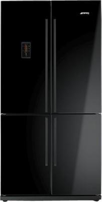 Холодильник с морозильником Smeg FQ60NPE - вид спереди