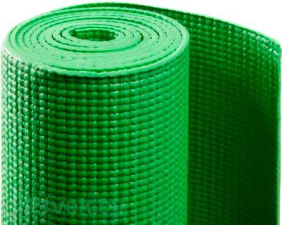 Коврик для йоги NoBrand YM-4 (ярко-зеленый) - общий вид