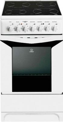 Кухонная плита Indesit K3C51(W)/U S - общий вид