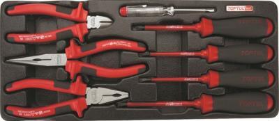 Универсальный набор инструментов Toptul GAAT0809 (8 предметов) - общий вид
