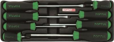 Набор однотипного инструмента Toptul GAAT0805 (8 предметов) - общий вид