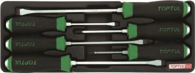 Набор однотипного инструмента Toptul GAAT0601 (6 предметов) - общий вид