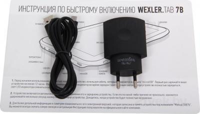 Планшет Wexler TAB 7b (8Gb, 3G, Black) - комплектация