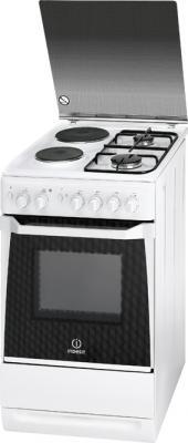 Кухонная плита Indesit KN3N11S(W)/EU S - общий вид