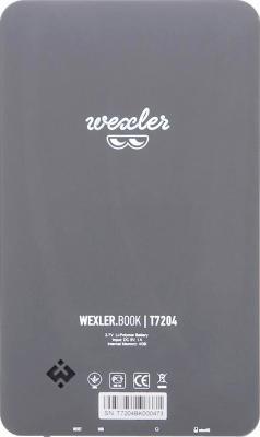 Электронная книга Wexler BOOK T7204 (Gray) - вид сзади