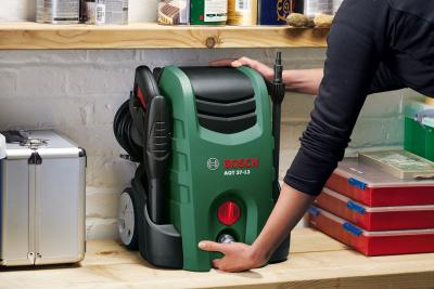 Мойка высокого давления Bosch AQT 37-13 Plus (0.600.8A7.201) - в работе