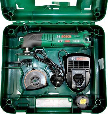 Многофункциональный инструмент Bosch PMF 10.8 LI (0.603.101.922) - комплектация в коробке