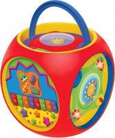 Развивающая игрушка Kiddieland Куб музыкальный 049775 -