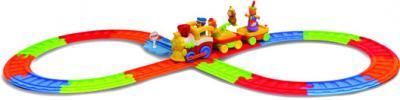 Развивающая игрушка Kiddieland Железная дорога и цирковой поезд (041962) - общий вид