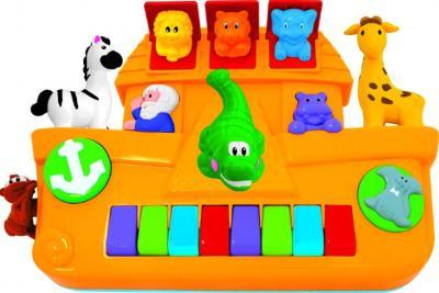 """Развивающая игрушка Kiddieland Пианино """"Ноев ковчег"""" (049254) - общий вид"""