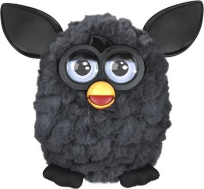"""Интерактивная игрушка Hasbro """"Furby"""" Холодная волна (черная) - общий вид"""