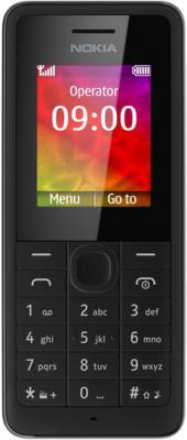 Мобильный телефон Nokia 106 (Black) - общий вид
